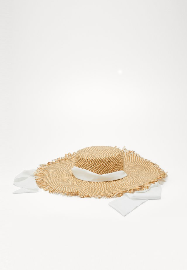 AMIDO - Hat - natural/white
