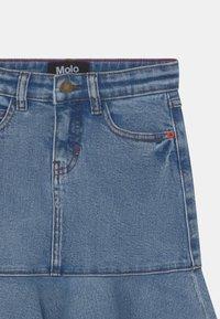 Molo - BARBRO - Minigonna - stone blue - 2