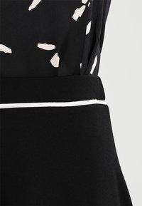 Anna Field - A-linjainen hame - black - 3