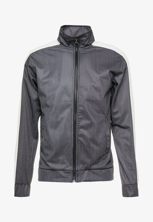 RAIN - Training jacket - black/white