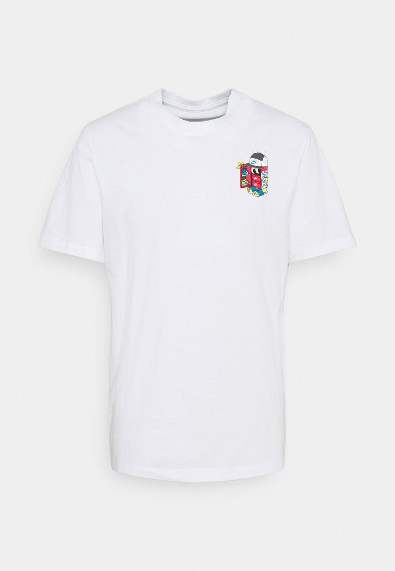 Nike Sportswear - TEE SHOEBOX - T-shirt med print - white