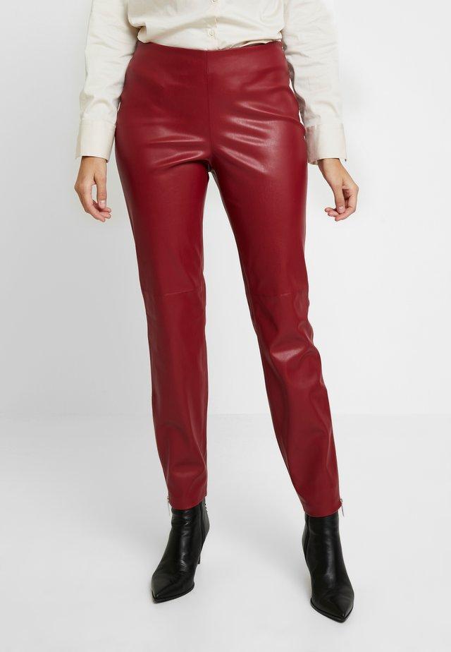 PANTS - Pantaloni - bordeaux