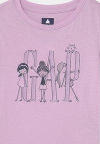 GAP - TODDLER GIRL LOGO - Triko spotiskem - light pink - 2