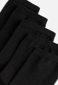OYSHO - 5 PAIRS OF COTTON SOCKS - Socks - black - 6