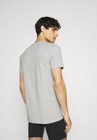 Nike Underwear - CREW NECK 2 PACK - Hemd - grey - 2