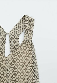 Massimo Dutti - MIT BLUMENPRINT  - Day dress - beige - 3