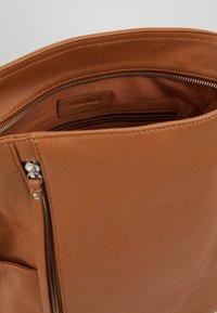 FREDsBRUDER - NEW TRUE - Handbag - dark camel - 4