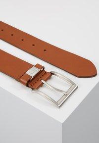 BOSS - CONNIO - Belt business - medium brown - 2