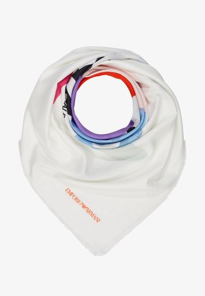 FOULARD GRAPHICS BLOCK - Šátek - white/multi