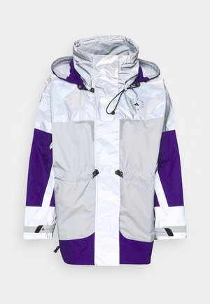 Hardshell jacket - reflective silver/clear onix/collegiate purple