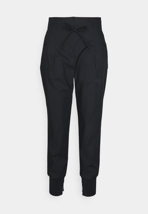 TIE WAIST UTILITY  - Pantalon de survêtement - black