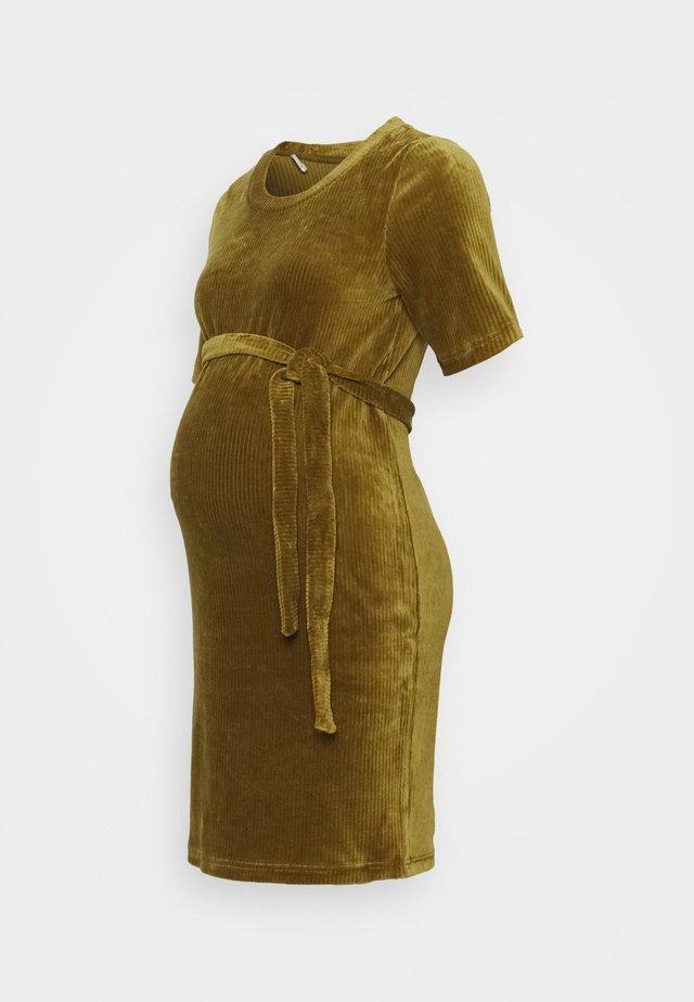 MLETTA SHORT DRESS - Day dress - nutria