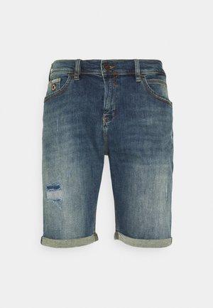 LANCE - Shorts di jeans - leporis wash