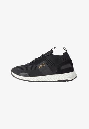 TITANIUM_RUNN_KNST - Sneakers basse - black