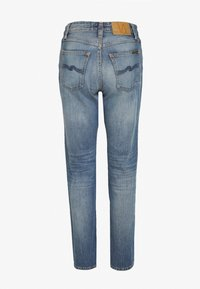 Nudie Jeans - BREEZY BRITT - Relaxed fit jeans - destroyed denim - 1