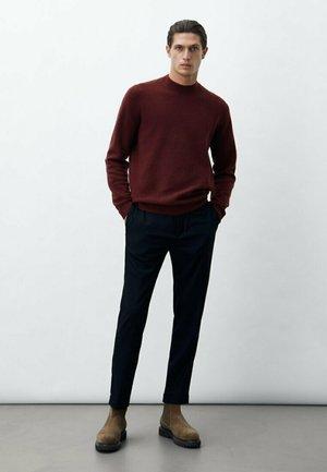 DIPLOMATIC  - Trousers - dark blue