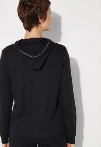 Tezenis - Zip-up hoodie - nero/bianco - 1
