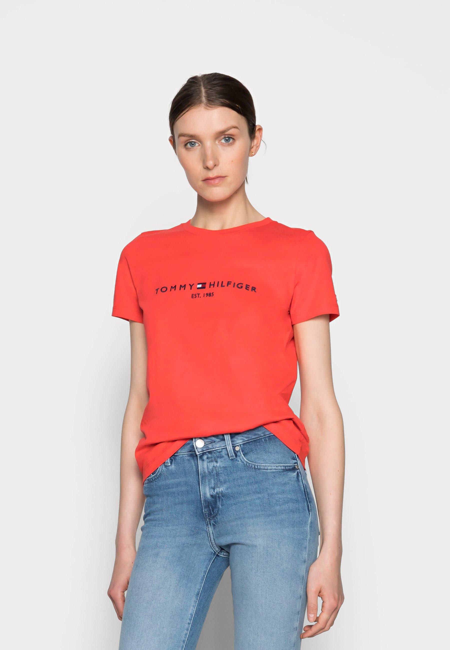 Women REGULAR HILFIGER TEE - Print T-shirt