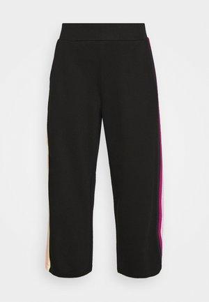 DOUBLE TAPE PANTS - Trousers - black