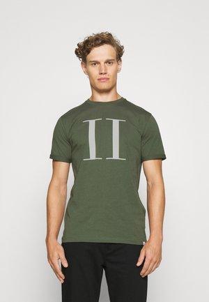 ENCORE  - T-shirt print - thyme green/ivory