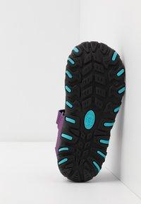 TrollKids - KIDS SANDEFJORD - Walking sandals - fuchsia/turquoise - 5
