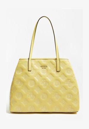 VIKKY 4G-LOGO UND PEONY-LOGO - Tote bag - gelb