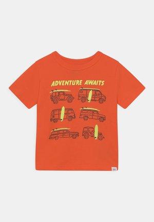 TODDLER BOY - T-shirt print - bright mandarin
