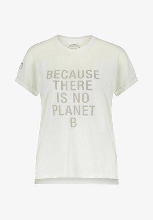 ONDALF - Print T-shirt - offwhite