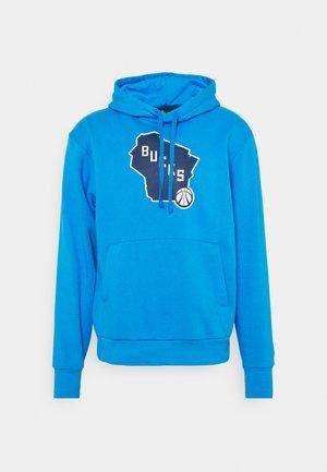 NBA MILWAUKEE BUCKS CITY EDITION ESSENTIAL HOODIE - Klubbklær - photo blue