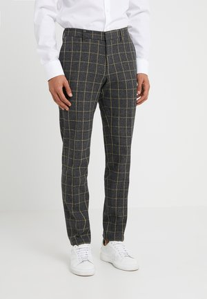 SIGHT - Suit trousers - anthracite