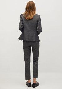 Mango - BORECUAD - Trousers - grey - 2