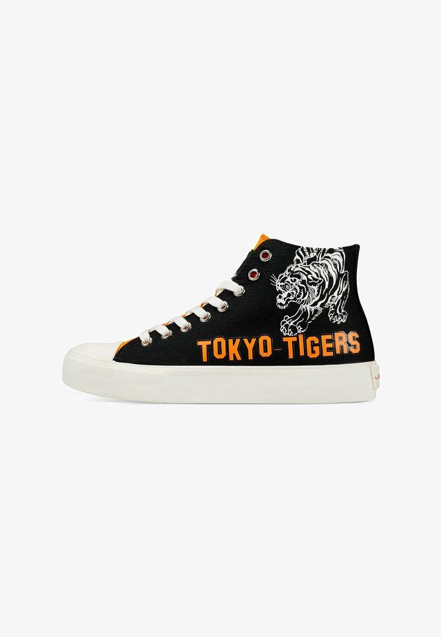 VINTAGE  TOKYO - Sneakers hoog - black