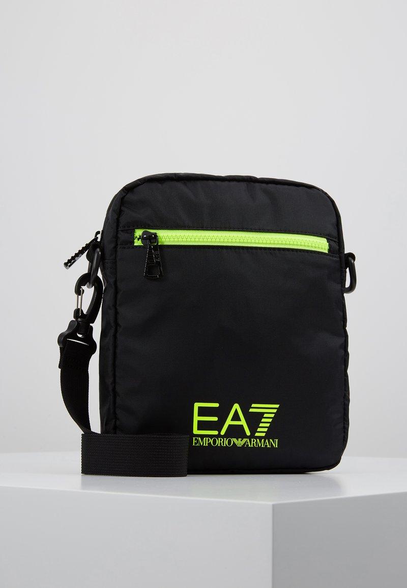 EA7 Emporio Armani - Bandolera - black / neon / yellow