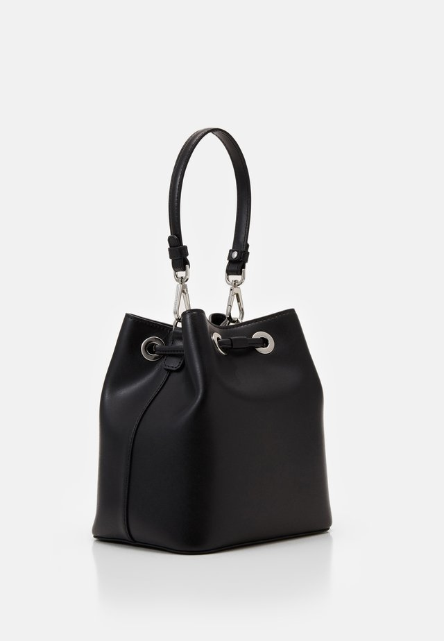 IKONIK BUCKET BAG - Håndveske - black