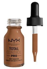 Nyx Professional Makeup - TOTAL CONTROL PRO DROP FOUNDATION - Foundation - mahogony - 1