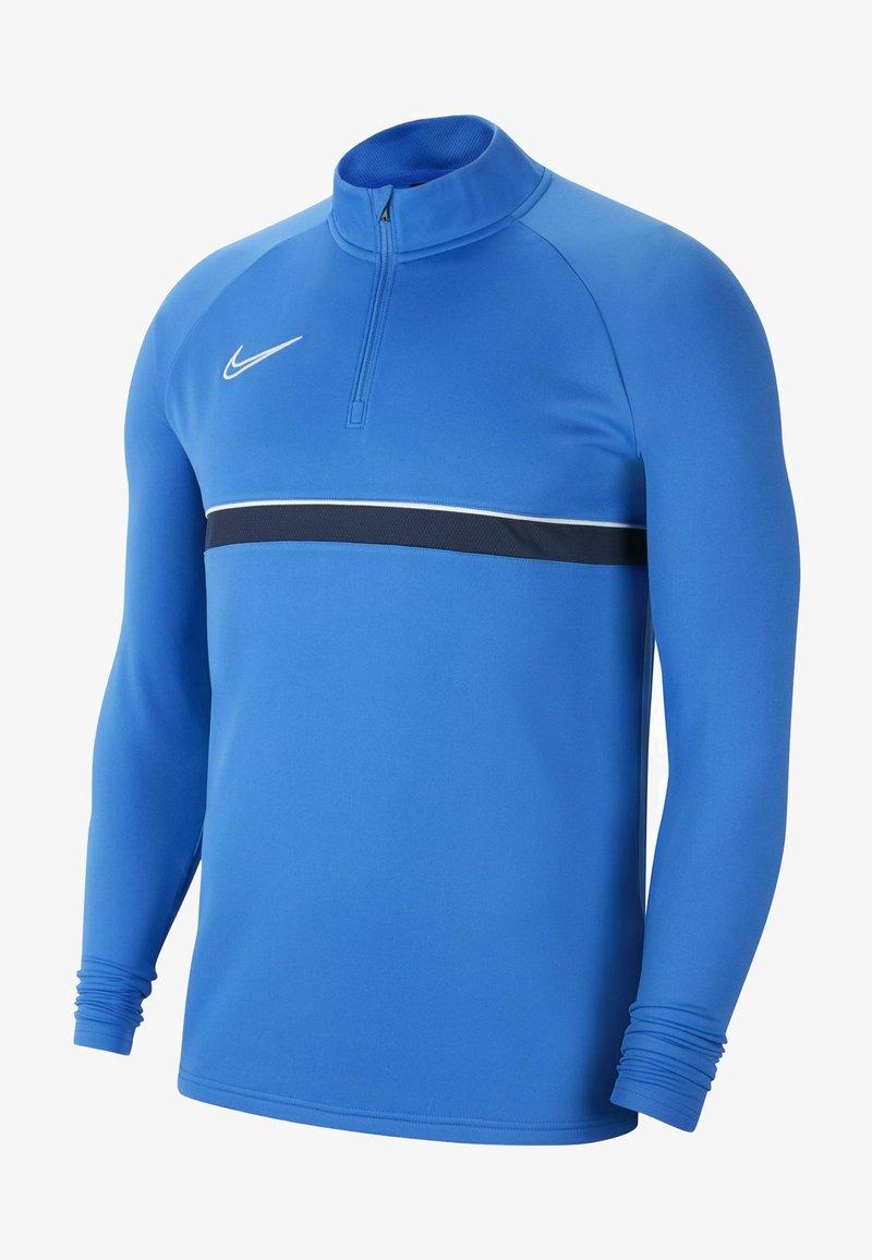 Nike Performance - ACADEMY DRIL - Funktionstrøjer - royal blue/white/obsidian/white