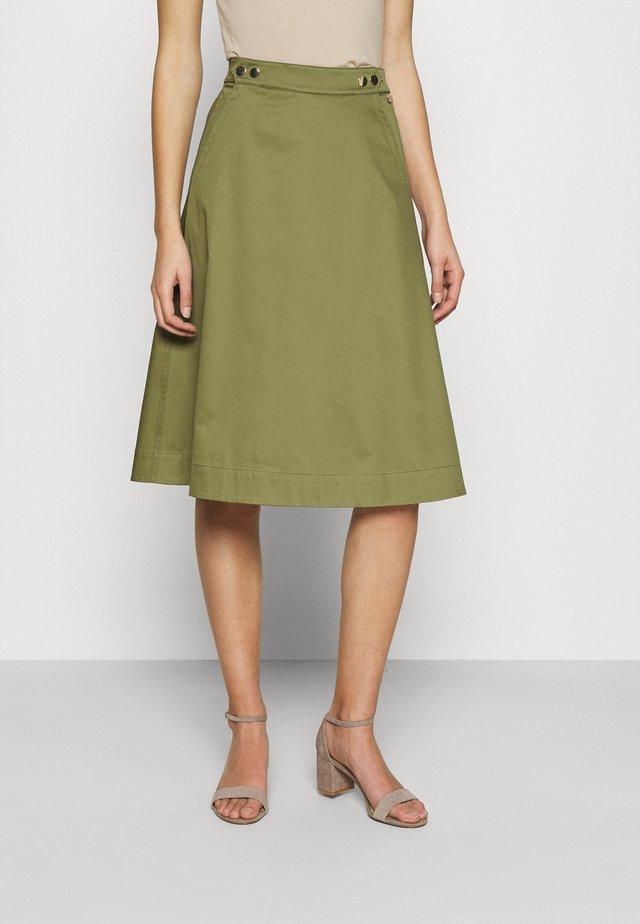 DANIELLA DALI SKIRT - Áčková sukně - capulet olive