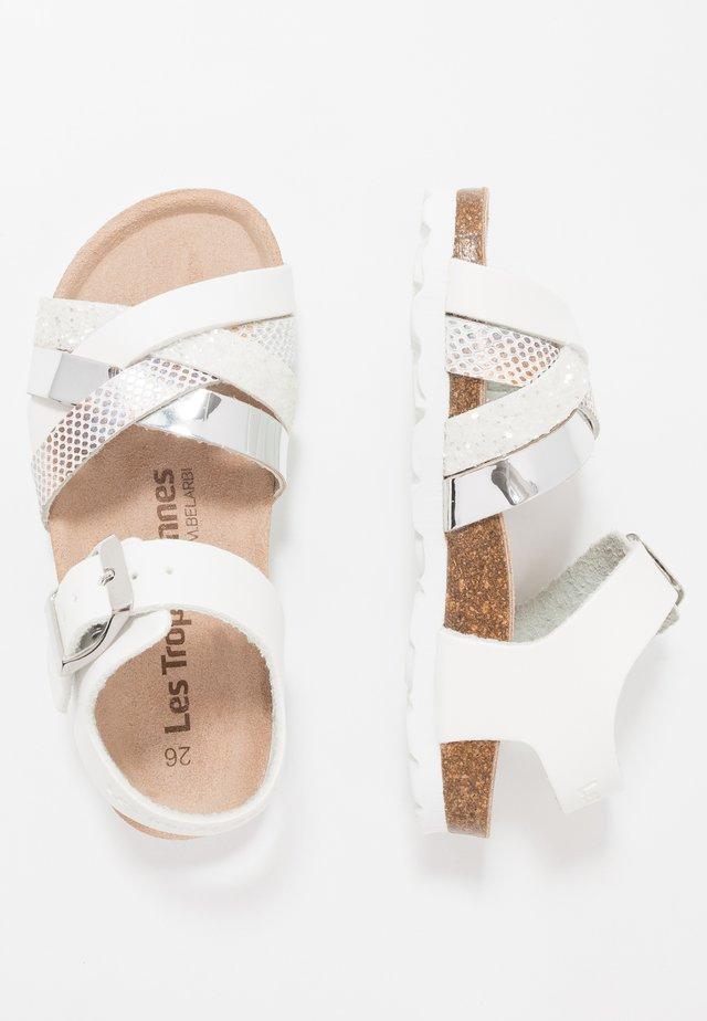 PARODIE - Sandalen - blance/multicolor