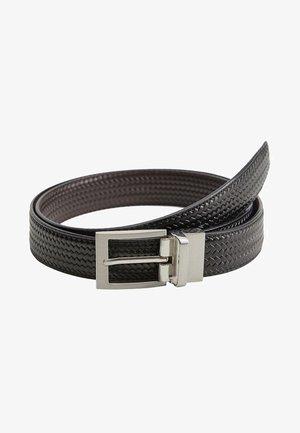 EMILI3 - Braided belt - schwarz