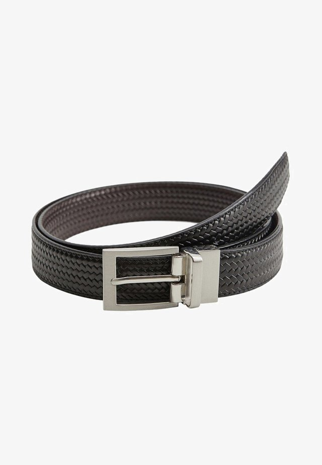 EMILI3 - Braided belt - schwarz