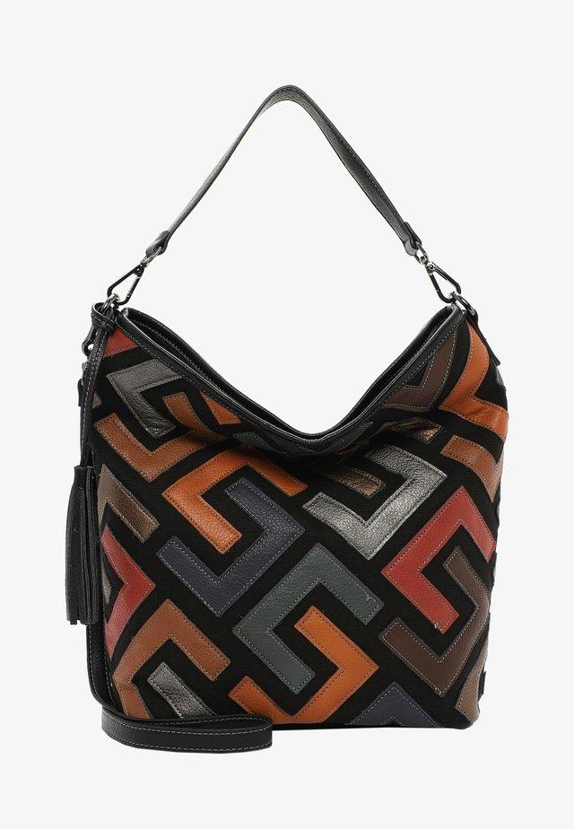 Handbag - black kombi 150