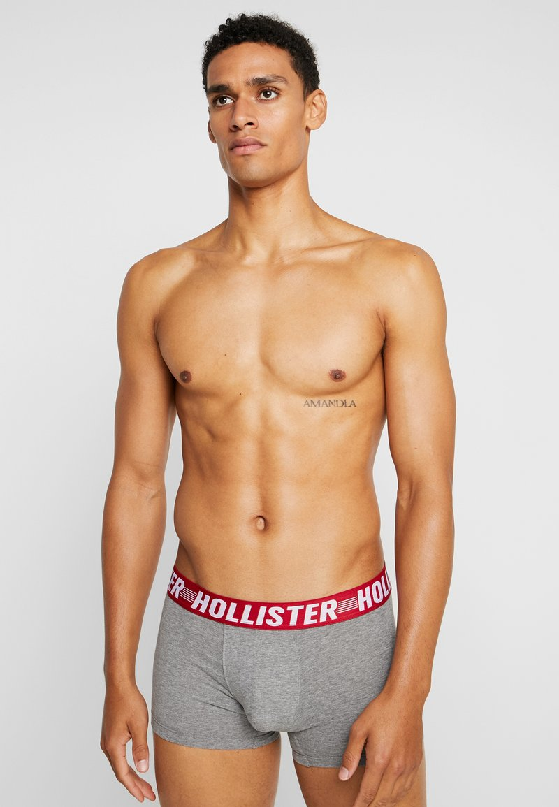 Hollister Co. - PATTERN - Culotte - red/white/grey
