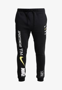 Nike Sportswear - CLUB - Tracksuit bottoms - black - 4