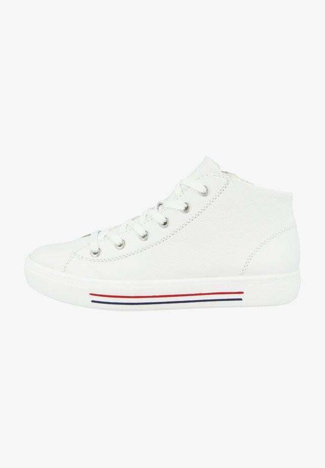 Sneakers hoog - white