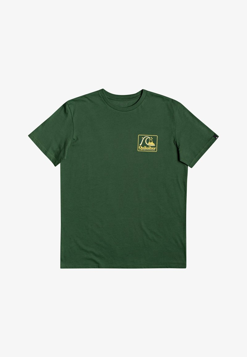 Quiksilver - BEACH TONES - Print T-shirt - greener pastures