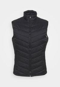 LIGHT WEIGHT VEST - Waistcoat - black