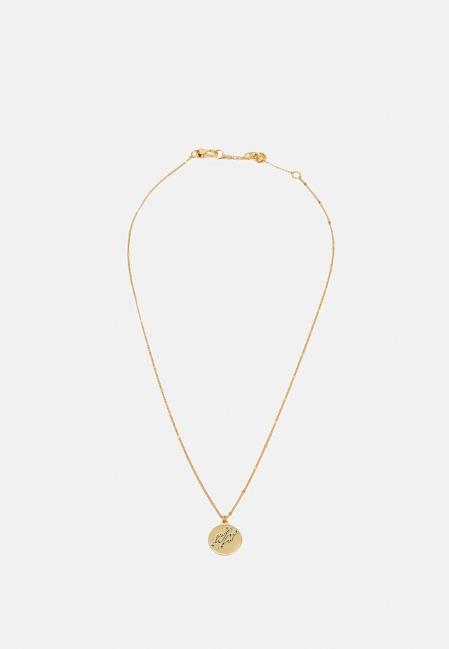 PISCES PENDANT - Ketting - gold-coloured