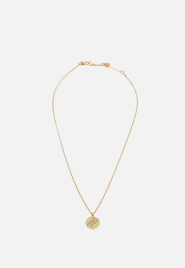 PISCES PENDANT - Collana - gold-coloured