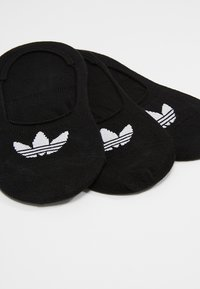 adidas Originals - NO SHOW 3 PACK - Trainer socks - black - 2