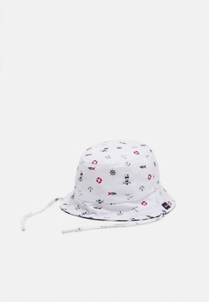 MINI UNISEX - Chapeau - snow/rot/navy